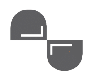 Grey capsule icon for consulting practice