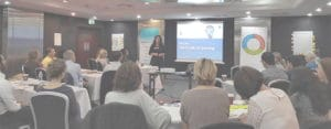 Liana Bagworth facilitating a emotional intelligence training workshop